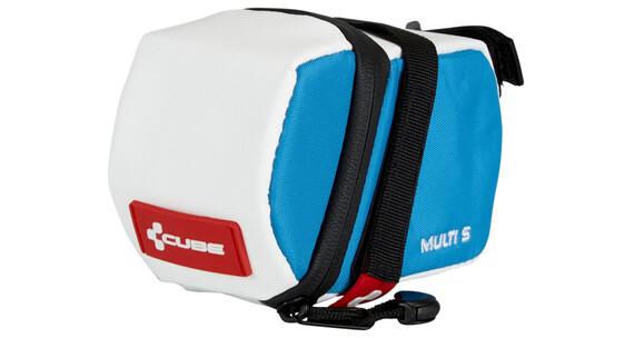 Cube Teamline Multi S fietstas blauw/wit